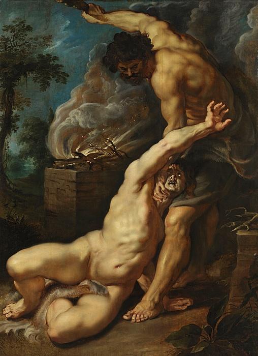 Caim matando Abel