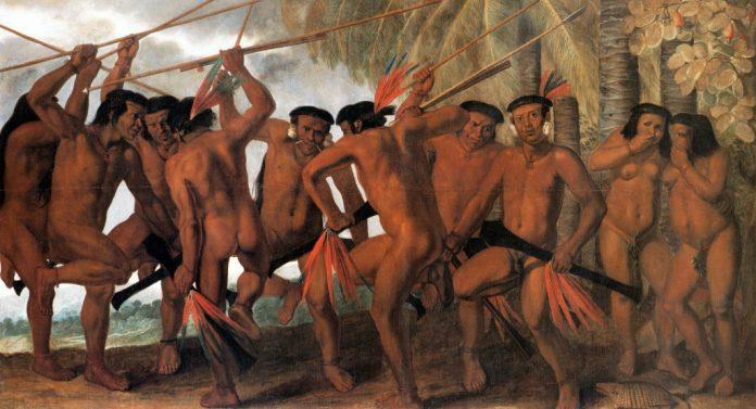 Dança Tapuia, por Albert Eckhout