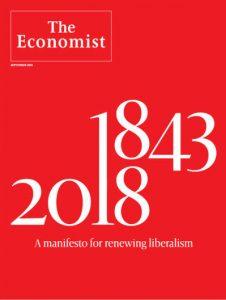 Capa de The Economist - Um manifesto pela renovação do liberalismo - set. 2018