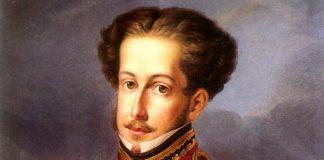 D. Pedro I - pintura de Pedro Manoel pintor oficial da corte